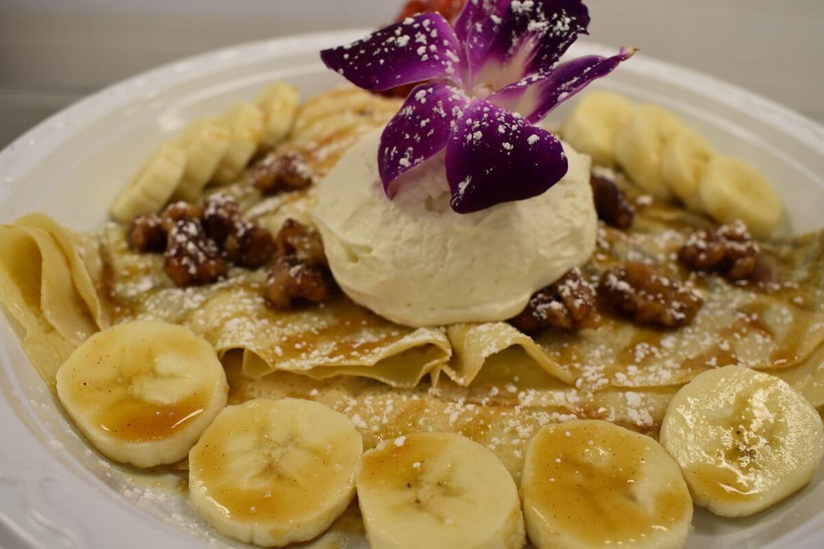 Fresh Buena Vista Banana Foster Sweet Crepe