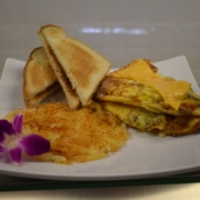 Veggie Omelet By Chef Manny | Vegetarian Options Available