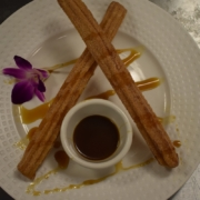 Vanilla Filled Churros for a Delicious Desert in Las Vgeas