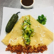 The Tijuana Breakfast Crepe