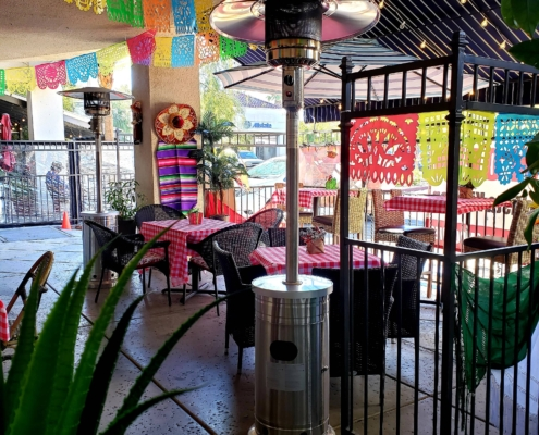 Outside Mexican Dining in Desert Shores, Las Vegas, Nevada